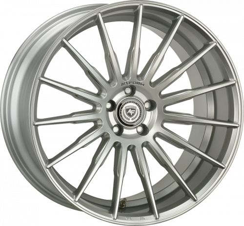 ARTFORM AF401 hliníkové disky 9x21 5x130 ET50 High Gloss Silver